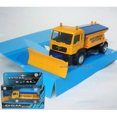 MAN Snow removal service truck