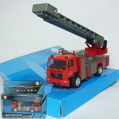 Man fire Department truck diecast model