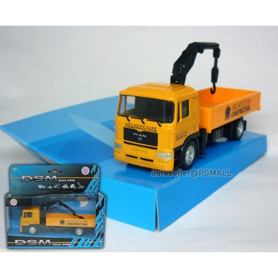 Architecture Constructure - MAN Truck w Front Loader cranes