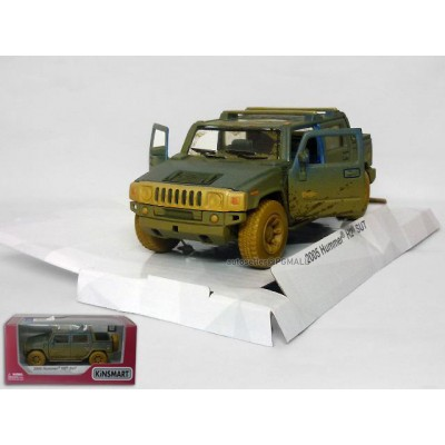 2005 Hummer H2 SUT (1/40) Diecast Vehicle - Muddy