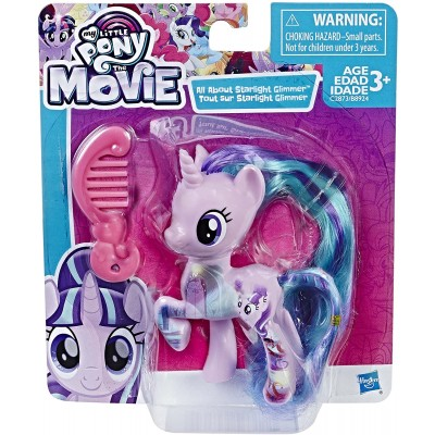 My Little Pony All About Starlight Glimmer Tout Sur Starlight Glimmer with Comb Figure Doll (C2873/B8924)