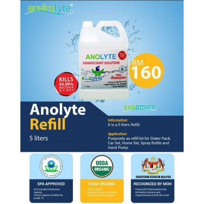 ANOLYTE DISINFECTANT SOLUTION