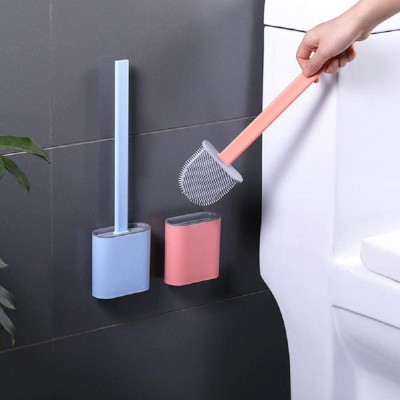 Creative Silicone Toilet Crevice Brush Nordic Style Toilet Cleaning Berus Tandas/硅胶马桶刷 SMLJ
