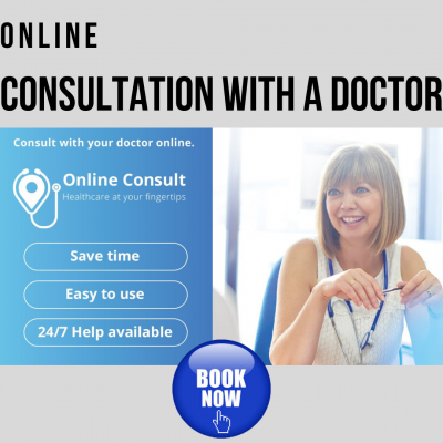 TeleHealth Medical Consultation with a Doctor