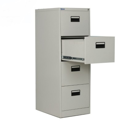 Steel/Metal 4 drawers filling cabinet c/w recess handle - FREE DELIVERY/READY STOCK