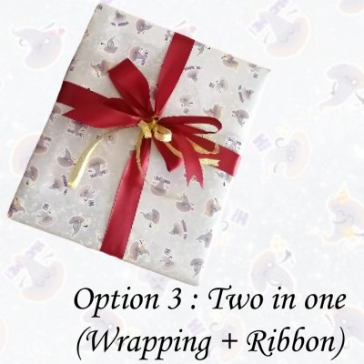Mokumoku Two-In-One Gift Wrapping Service - Marketplace Harian