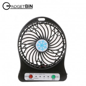 Portable Rechargeable 3 Speed Strong Wind Mini ...