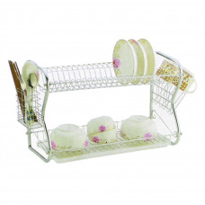 AS - 2-Layer Dish Drainer Rack (DR03) (45 x 25 x 39cm)