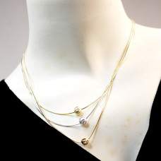Triple Rope Round Necklaces
