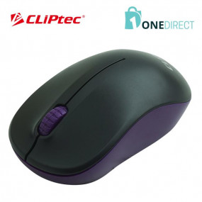 CLiPtec 1200dpi 2.4GHz Wireless Optical Mouse M853 (Blue)