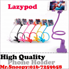 High Quality Lazypod Phone Holder Support Up To... (Black)
