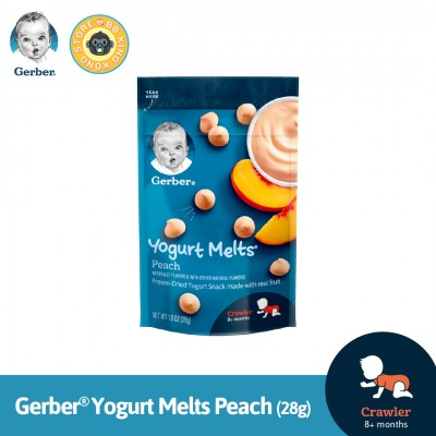 Gerber Yogurt Melts Peach 28G
