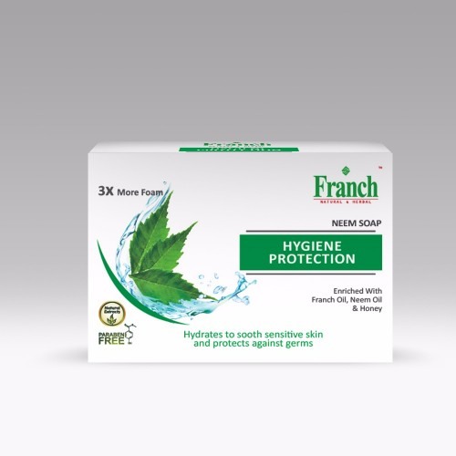 FRANCH HERBAL SOUP  PARABEN FREE (A SET OF 3 SOUPS)  - NEEM , POMEGRANATE OR ...